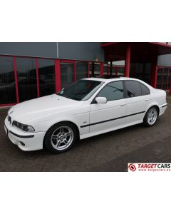 BMW 525I E39 SEDAN 2.5L 192HP AUT M-SPORT 03-01 WHITE 119394KM LHD