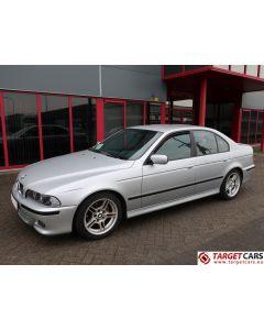 BMW 525I E39 SEDAN 2.5L 192HP AUT M-SPORT 07-01 SILVER 49853KM LHD