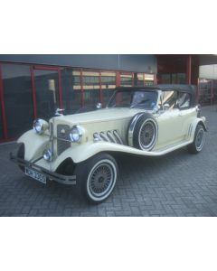 BEAUFORD OPEN TOURER 3.5L V8 10-77 CREAM 8910MILES