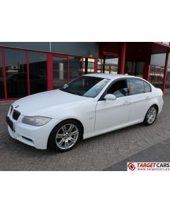 BMW 325I E90 SEDAN M-SPORT 2.5L 218HP 02-08 WHITE 55700KM LHD