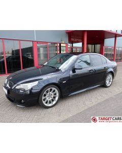 BMW 525I E60 SEDAN 2.5L M-SPORT 218HP 02-07 BLACK 77181KM LHD