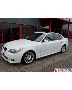 BMW 525I E60 SEDAN 2.5L M-SPORT 218HP 07-08 WHITE 89324KM LHD