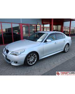 BMW 525I E60 SEDAN 2.5L M-SPORT 192HP 03-05 SILVER 91540KM RHD