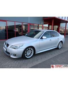 BMW 525I E60 SEDAN 2.5L M-SPORT 218HP 12-06 SILVER 59315KM LHD