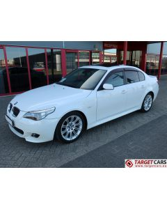 BMW 525I E60 SEDAN 2.5L M-SPORT 218HP 06-06 WHITE 76942KM LHD