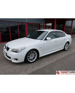 BMW 525I E60 SEDAN 2.5L M-SPORT 218HP 05-06 WHITE 69115KM LHD