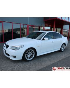 BMW 530I E60 SEDAN 3.0L M-SPORT 231HP 12-04 WHITE 106529KM LHD