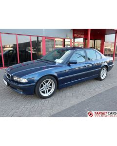 BMW 735I E38 SEDAN 3.5L 238HP AUT M-SPORT 05-01 BLUE 64354KM RHD