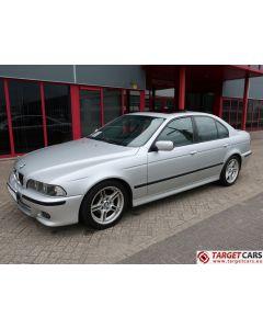 BMW 525I E39 SEDAN 2.5L 192HP AUT M-SPORT 06-02 SILVER 92781KM LHD