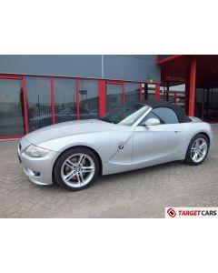 BMW Z4M ROADSTER Z4 M CABRIO 3.2I 343HP S54 1-07 SILVER 88109KM LHD