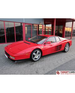 FERRARI TESTAROSSA 4.9L 390HP COUPE 03-1991 RED 45726 LHD