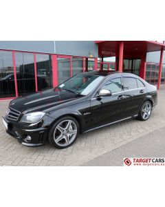 MERCEDES C63 AMG W204 SEDAN 6.2L V8 457HP AUT 12-08 BLACK 28431KM LHD