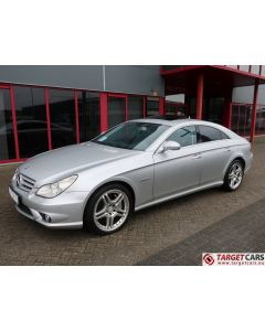 MERCEDES CLS63 AMG COUPE CLS63AMG SEDAN 6.2L V8 514HP AUT 06-07 SILVER 94938KM LHD