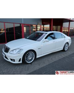 MERCEDES S63 L AMG LONG V221 SEDAN 6.2L V8 525HP AUT 06-07 WHITE 94926KM LHD