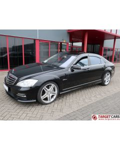 MERCEDES S63 L AMG LONG V221 SEDAN 6.2L V8 525HP AUT 11-07 BLACK 99063KM LHD