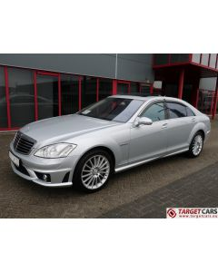 MERCEDES S63 L AMG LONG V221 SEDAN 6.2L V8 525HP AUT 07-09 SILVER 96030KM LHD