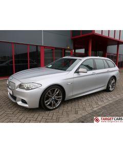 BMW M550D XDRIVE TOURING F11 AUT 381HP SILVER 08-12 81663KM LHD
